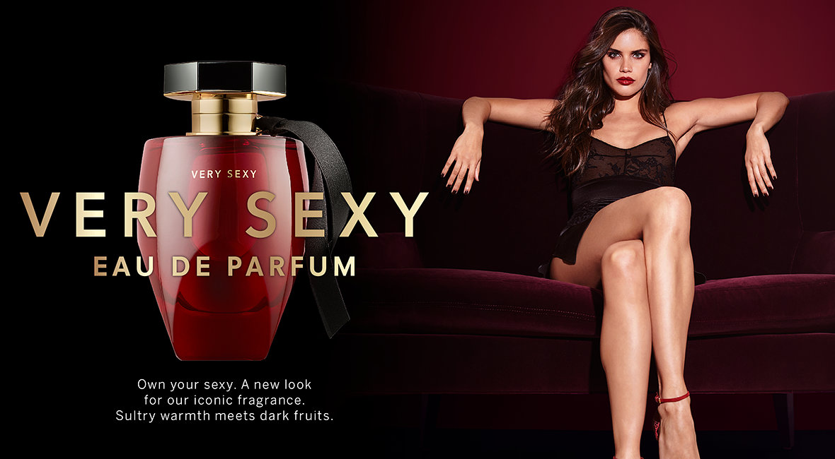 dea4e02973 Very Sexy Eau de Parfum. Own your sexy. A new look for our iconic