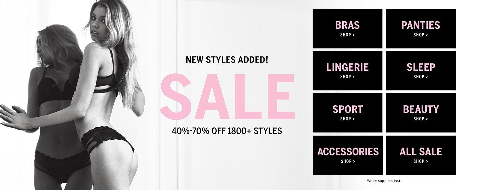 Shop Sale & Clearance - Victoria's Secret