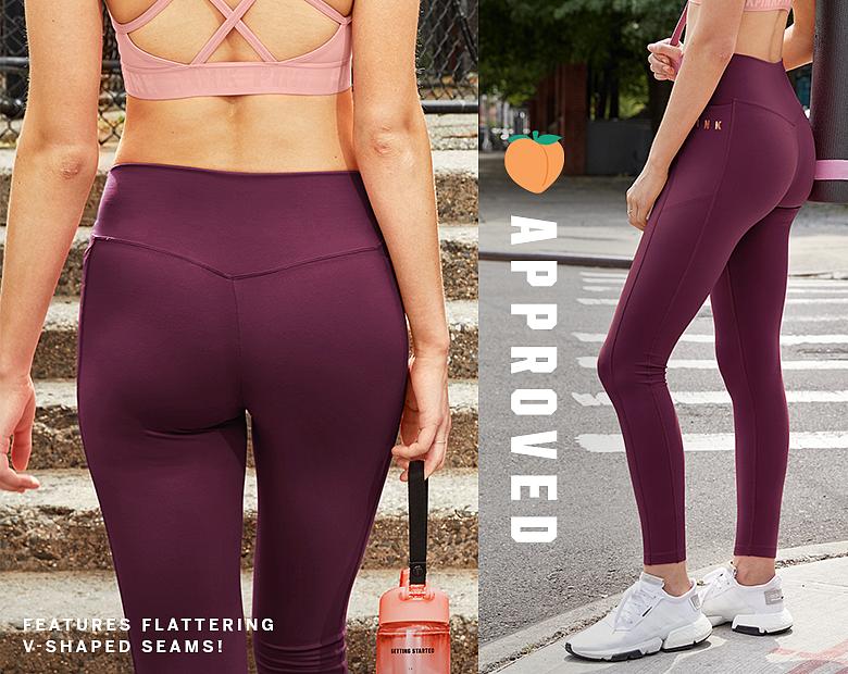 a24773012d706 Shop All Bike Shorts, Leggings & Yoga Pants - PINK