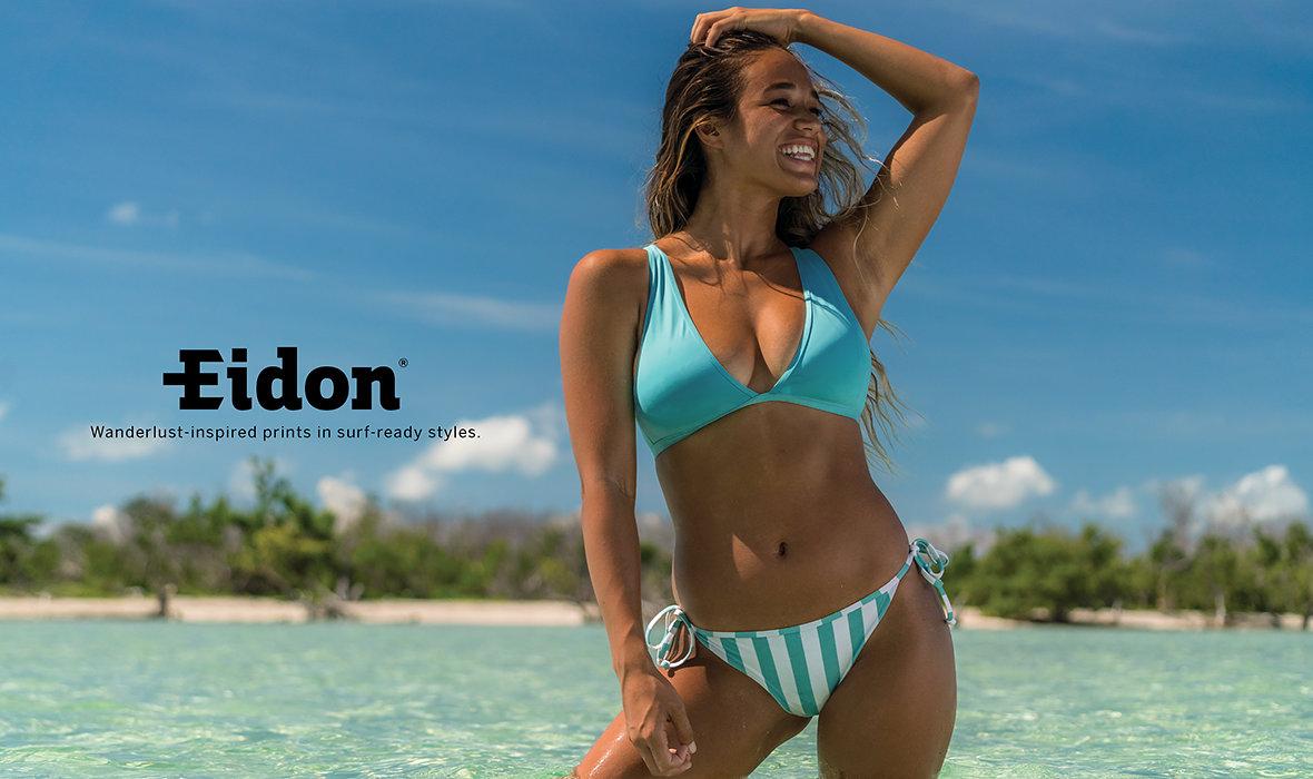 73e07d4ef913e Eidon: Wanderlust-inspired prints in surf-ready styles.