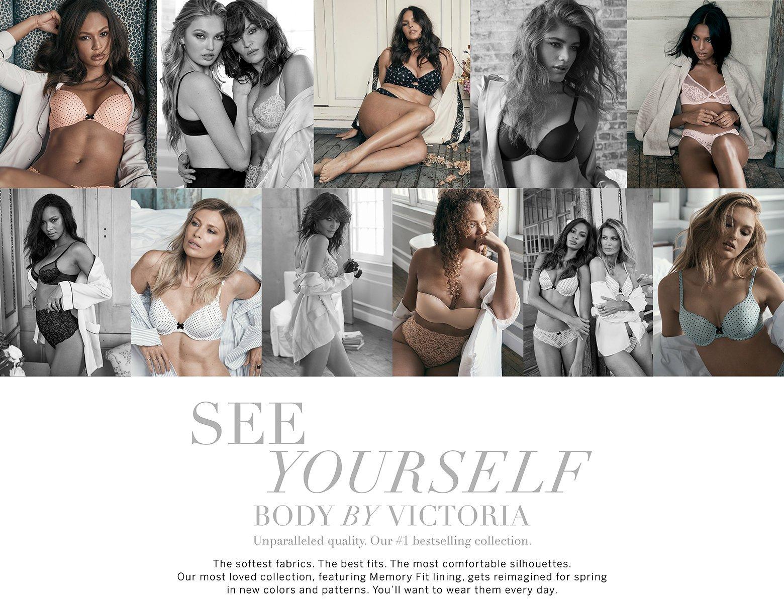 Victorias Secret BBV Body by Victoria Lined Demi or P//C 32 34 36 Aqua Lace NWT