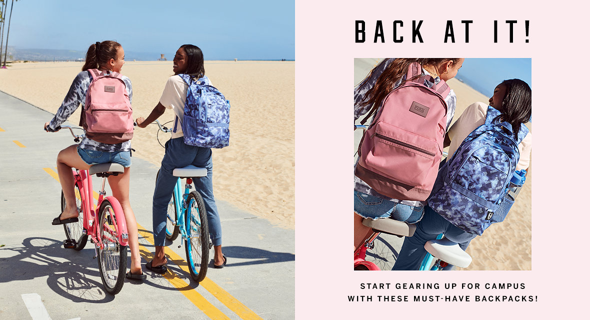 d3a794877f9f23 Back At It! Start gearing up for campus with these must-have backpacks!