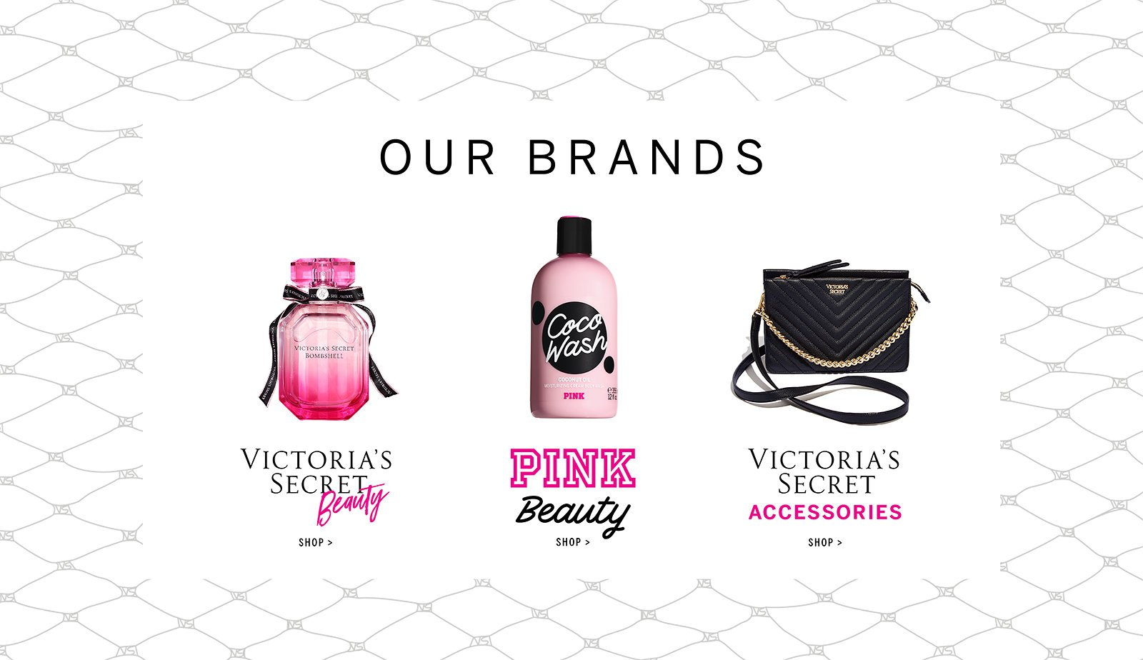 Beauty Products & Accessories by PINK & Victoria's Secret