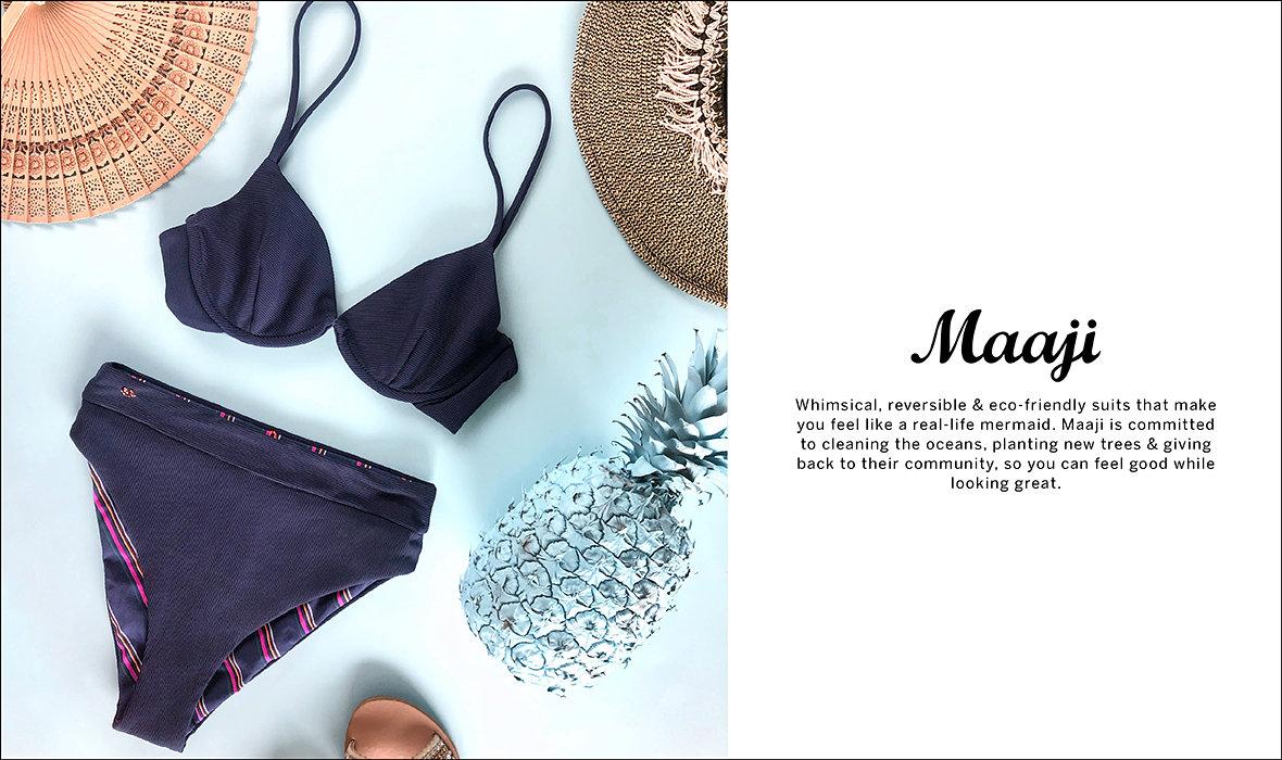 Victoria's Secret Multi Color Purple Blue The Ruffle Fabulous Swim Bikini Clothing, Shoes & Accessories Swimwear