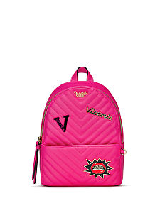 5958fe7aaa Embellished V-Quilt Small City Backpack