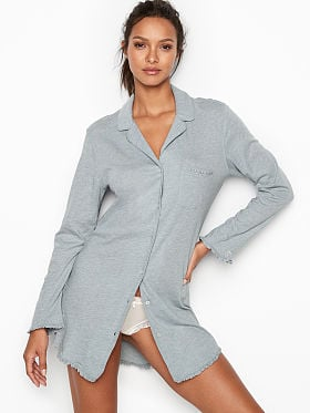 73029fd02 Victoria s Secret Featherweight Ruffle Sleepshirt