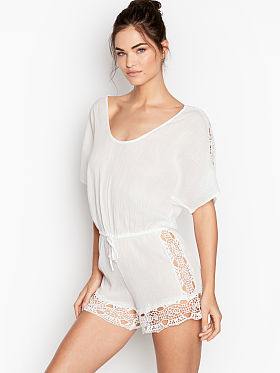 6916a0898673d Swimsuit Cover Ups - Beach Dresses, Rompers & More - Victoria's ...