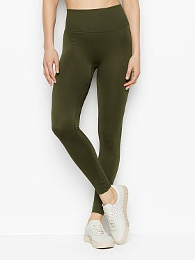 Victoria's Secret Seamless Tight,Forest Night 3FJE
