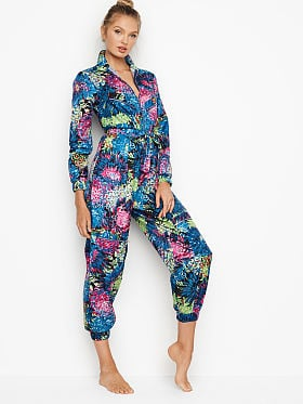 da5644ab040 Pajama Rompers and Jumpsuits - Victoria s Secret