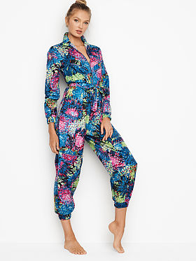 a179d5706a61 Pajama Rompers and Jumpsuits - Victoria s Secret