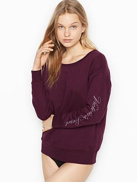 kuscheliges sweatshirt damen victoria secret
