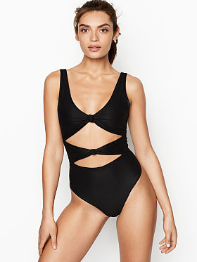 ff23e17999ddf Bodysuits for Women - Black, Nude & Grey - Victoria's Secret