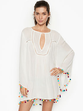 59cbd5475a Swimsuit Cover Ups - Beach Dresses, Rompers & More - Victoria's ...