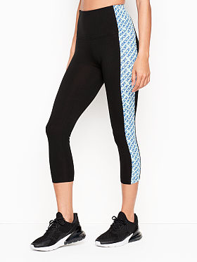 5742639d Victoria Sport Anytime Cotton High-rise Capri