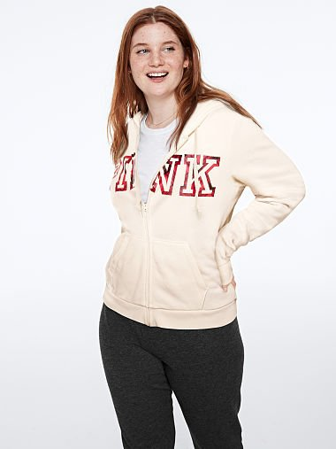 PINK Everyday Lounge Perfect Full-Zip