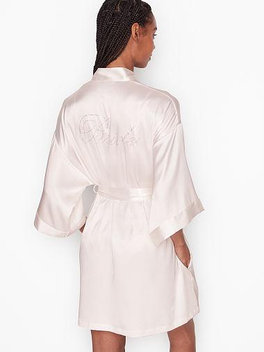 Victorias Secret Bridal Bling Garter /& Thong Veil Set Rhinestone Crystal bride L