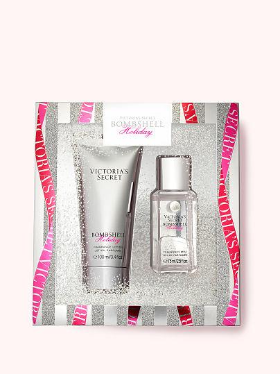 Victoria's Secret, Victoria's Secret new Bombshell Holiday Fine Fragrance Mini Gift, offModelFront, 1 of 3