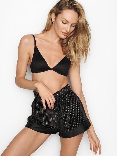 Glitter Velvet High Waist Short by Victoria's Secret