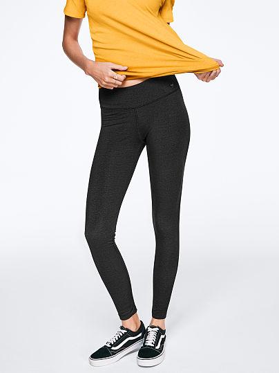 PINK Essential Legging, Dark Grey, featured, 1 of 3