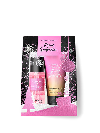 Victoria's Secret Mist & Lotion Mini Giftables, Pure Seduction, offModelFront, 1 of 2
