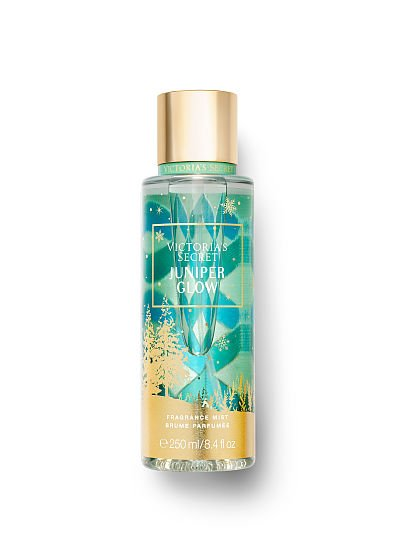 Victoria's Secret new Scents of Holiday Fragrance Mists, Juniper Glow, offModelFront, 1 of 2