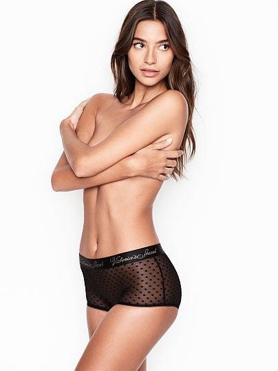 Victoria's Secret, Victoria's Secret new Sheer Mesh Shortie Panty,