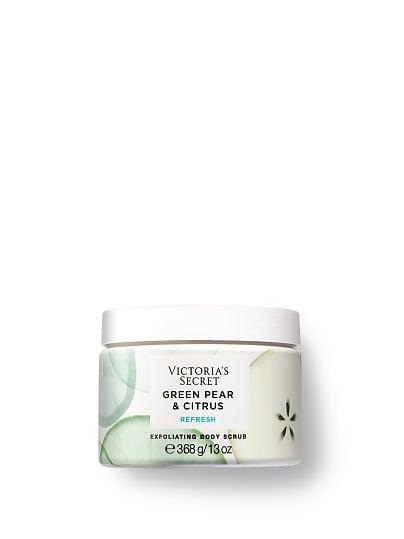 Victoria's Secret, Victoria's Secret Natural Beauty Exfoliating Body Scrub, Green Pear & Citrus,