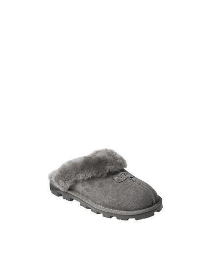193f50fb5f0 Victoria s Secret Ugg® Coquette Slipper Grey off Model Front 1 ...