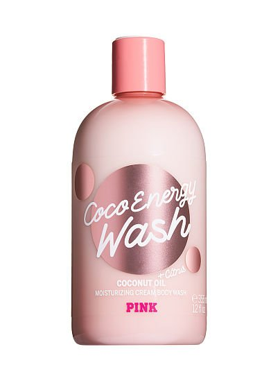 PINK Coco Energy Moisturizing Cream Body Wash with Coconut Oil, Coco Energy,