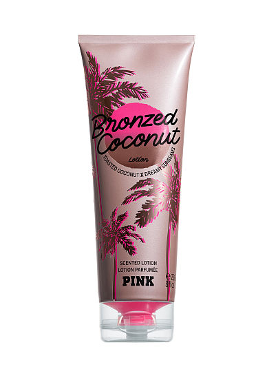 PINK Scented Lotion, Bronzed Coconut, featured, 1 of 2