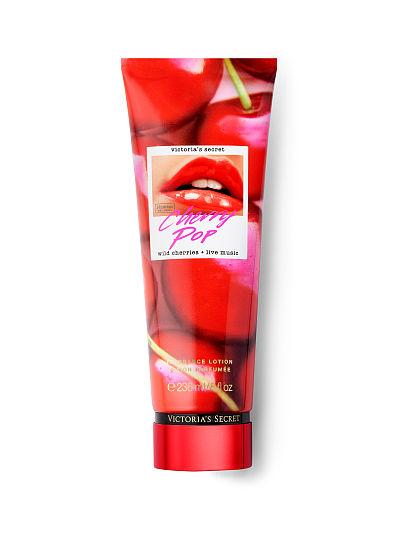Victoria's Secret, Victoria's Secret Total Remix Fragrance Lotions, Cherry Pop, offModelFront, 1 of 2