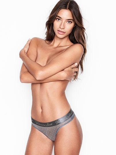 Victoria's Secret, Victoria's Secret new Mesh Thong Panty,