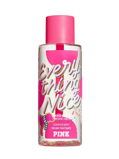 PINK new Limited Edition Everything Nice Scented Mist, Everything Nice, offModelFront, 1 of 1