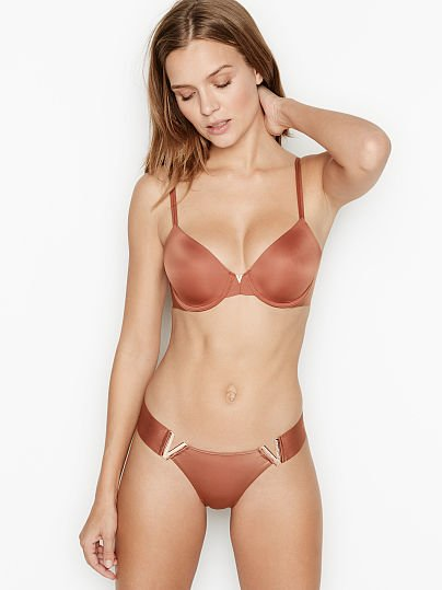 Victoria's Secret, Sexy Illusions by Victoria's Secret Lightly Lined Full-coverage Bra, featured, 1 of 5