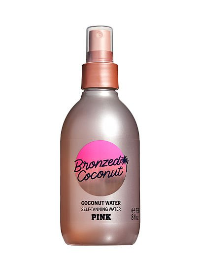 PINK Bronzed Coconut Self-Tanning Water with Coconut Water, Bronzed Coconut,