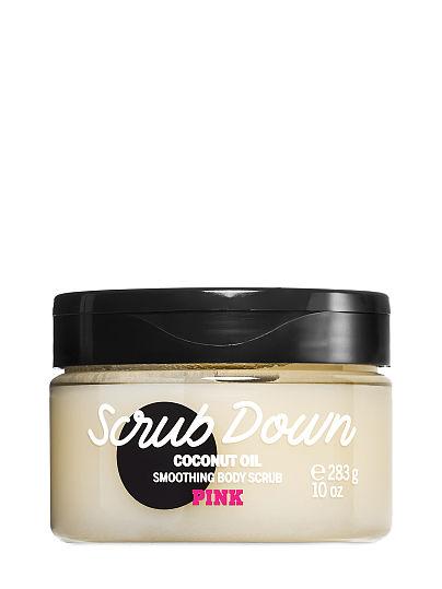fa8754cafcbee Scrub Down Coconut Oil Smoothing Body Scrub - PINK - beauty
