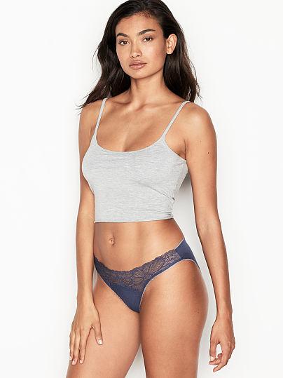 Victoria's Secret, Victoria's Secret Lace Trim Bikini Panty,