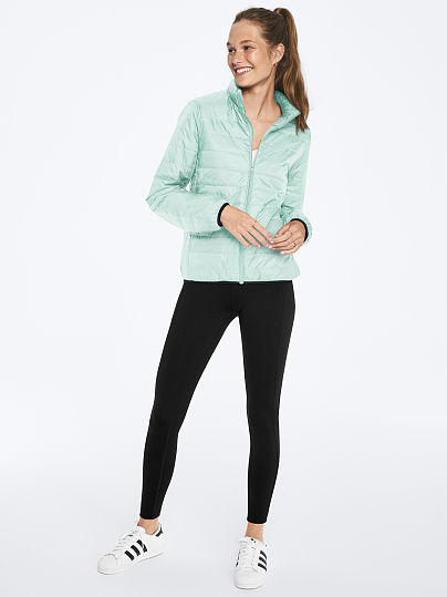 Pink Women's Packable Puffer Jacket (Various Colors)