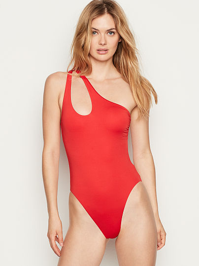baf3a86881c5b Cutout Shoulder One-piece - Victoria's Secret - vs