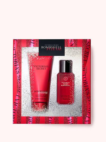 Victoria's Secret, Victoria's Secret new Bombshell Intense Fine Fragrance Mini Gift, offModelFront, 1 of 3