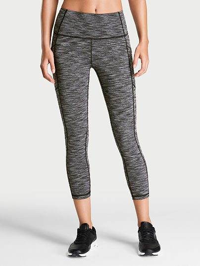 97a10f9bb192b Victoria's Secret Victoria Sport Knockout by Victoria Sport High-rise  Pocket Capri on Model Front