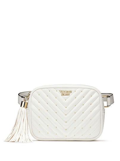Victoria's Secret, Victoria's Secret Pebbled V-Quilt Belt Bag, featured, 1 of 4