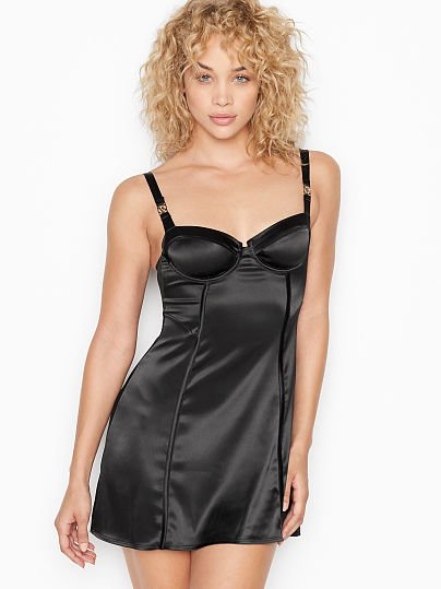 Logo Hardware Bustier Slip by Victoria's Secret