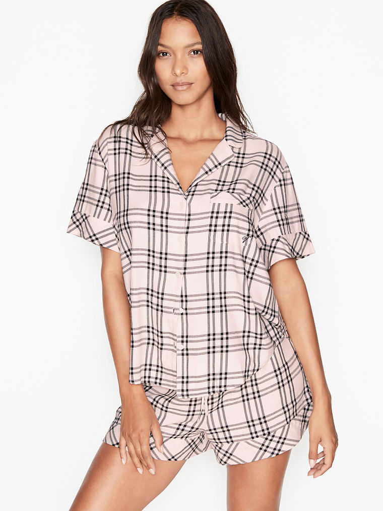 Victoria Secret Pajama Shorts Cotton S M L NWT