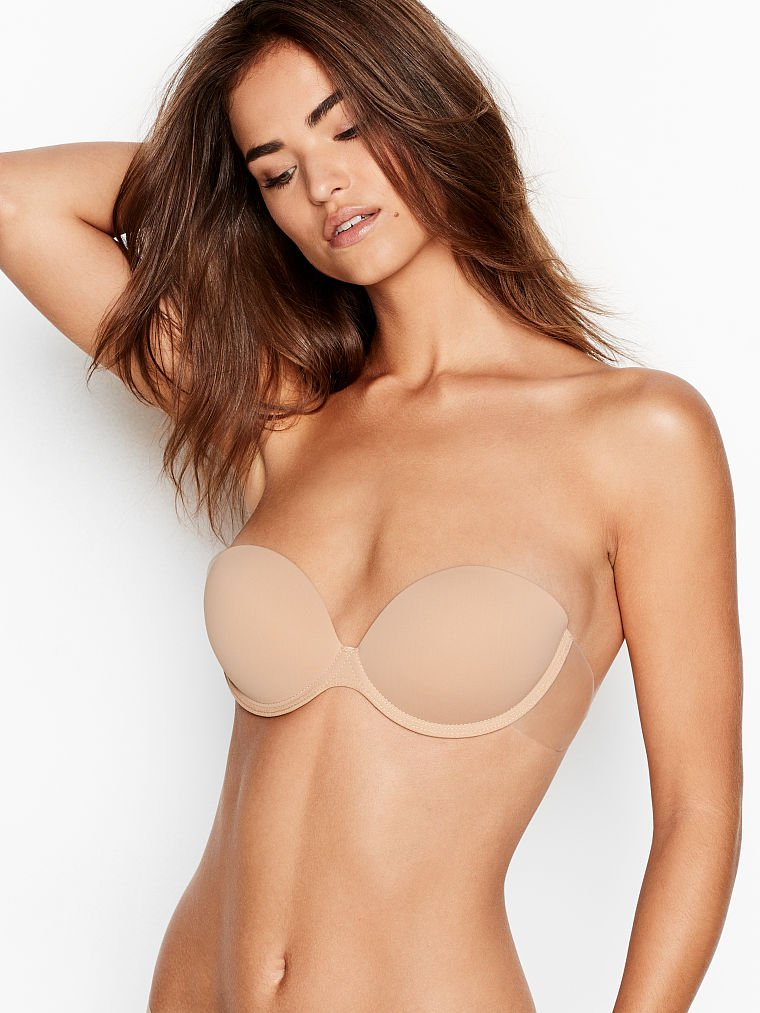 Victoria's Secret Invisible Push-Up Bra With Wings
