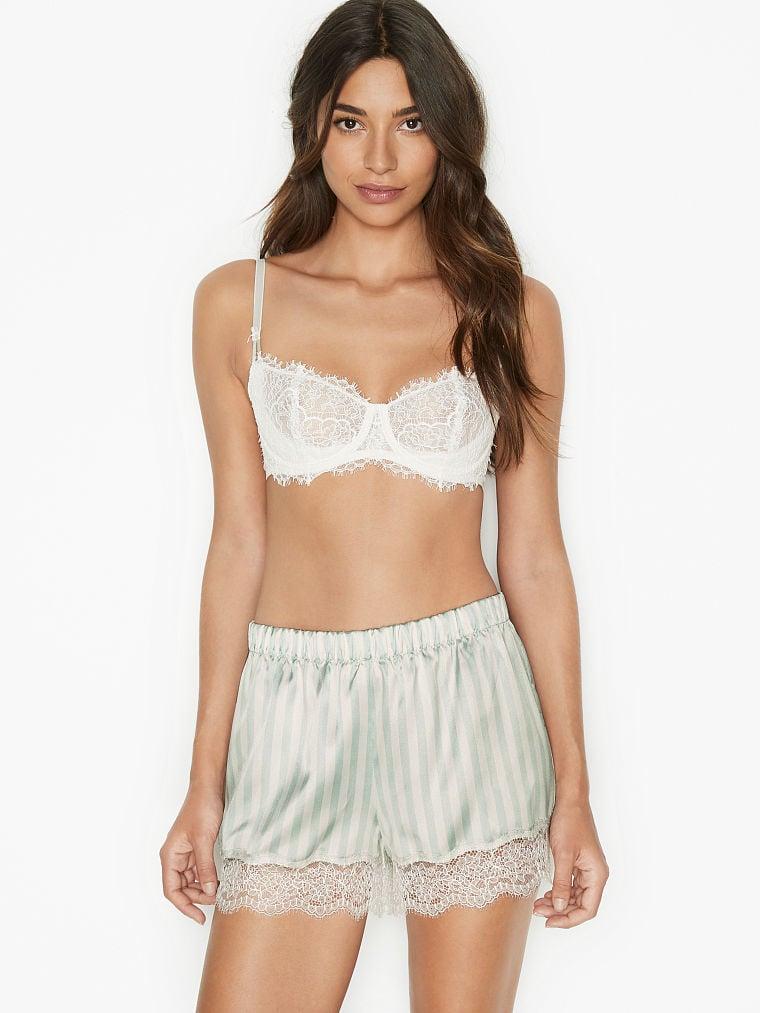 Lace Satin Shorts