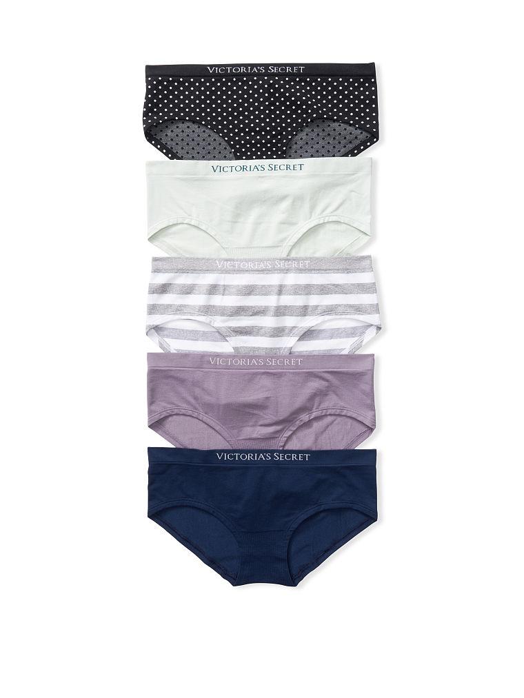 Victoria's Secret מארז 5 תחתונים Seamless Hiphugger Panties