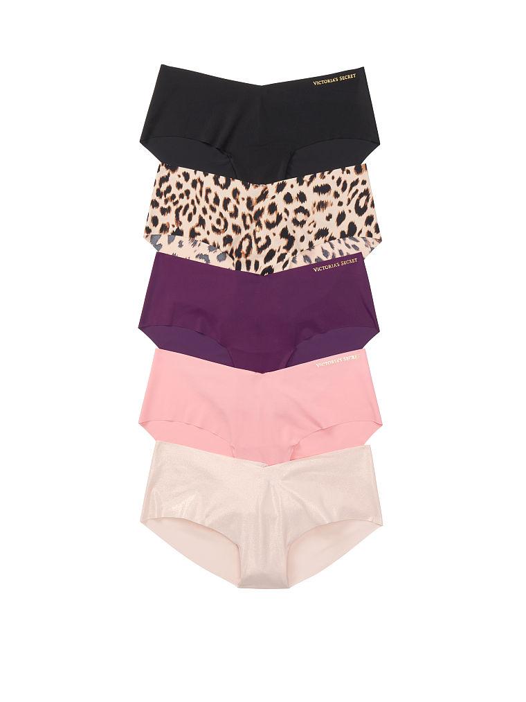 5-pack No-Show Hiphugger Panties : Color - Graphic Multi (58HO30) , Size - XL (11180251)